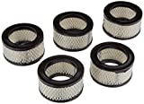5 PACK New Filter Replacement Paper element for air compressor REPLACES CAMPBELL HAUSFELD STO739-03 & STO739-03AU CHAMPION P5050A CURTIS VA1118 GARDNER DENVER 2109945 INGERSOL RAND 32170979 SULLAIR 243196