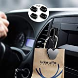 BEN.JACK Hangers Stick on Car Dashboard,Adhesive Hooks Heavy Duty Stick on Wall,Bathroom,Kitchen,Hanging Towel,Earphone and Cable,Sticky,Waterproof,Organize Damage-Free,(4 Pack)