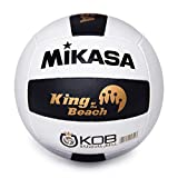 Miramar King of the Beach Volleyball by Mikasa - The Official Tour Beach Volleyball Designed by Olympian and World Champion Sinjin Smith