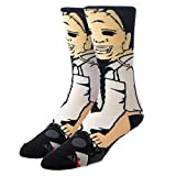 Texas Chainsaw Massacre Leatherface 360 Character Crew Sock
