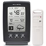 AcuRite Digital Weather Forecaster with Indoor/Outdoor Temperature, Humidity, and Moon Phase (00829) 0.7