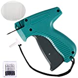 Tagging Gun for Clothing, Standard Retail Price Tag Attacher Gun Kit for Clothes Labeler with 6 Needles & 1000pcs Barbs Fasteners & Organizer Bag for Store Warehouse Consignment Garage Yard Sale