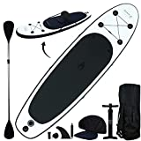 Blue Water Toys 2-in-1 SUP And Kayak! | 10' Inflatable Stand Up Paddle Board/Kayak | Complete Accessory Set That Includes Convertible Paddle, Kayak Seat, Travel Backpack, and More!