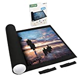 Lavievert Jigsaw Puzzle Roll Mat Puzzle Storage Puzzle Saver, Environmental Friendly Material, Store Jigsaw Puzzles Up to 1,500 Pieces
