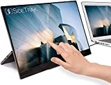 SideTrak Solo Portable Monitor Freestanding Touchscreen 15.6' FHD 1080P LED IPS Screen with Kickstand |Compatible with PC & Chrome | Powered by USB-C or Mini HDMI | Built-in Speakers & HDR Mode