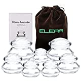 ELERA Massage Cupping Therapy Sets, Professionally Chinese Massage Cups Tools, Silicone Cup for Joint Pain Relief, Massage Body (7 Cups)
