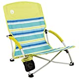 Coleman Camping Chair   Lightweight Utopia Breeze Beach Chair   Outdoor Chair with Low Profile