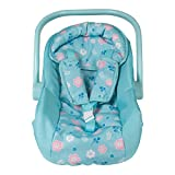Adora Baby Doll Car Seat - Flower Power Car Seat Carrier, Perfect Doll Accessory That Fits Dolls Up to 20 inches