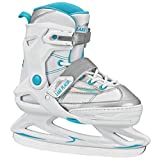 Lake Placid Monarch Girl's Adjustable Ice Skate Blue/Holographic Small (11-2)