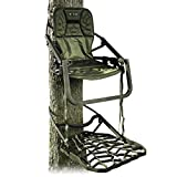 Xtreme Outdoor Products XOP Ambush XL - Aluminum Climbing Tree Stands for Hunting, XOP Green.