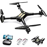 SYMA X600W Foldable Drone with 1080P HD FPV Camera for Adults, RC Quadcopter for Kids Beginners, with Headless Mode, Altitude Hold, 3D Flip, Custom Route and One Key Start