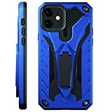Kitoo Designed for iPhone 11 Case with Kickstand, Military Grade 12ft. Drop Tested - Blue