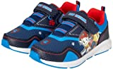 Nickelodeon Boys' Paw Patrol Sneakers - Light Up Running Shoes (Toddler/Little Kid), Size 11 Little Kid, Navy and Blue