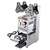 WeChef Commercial Semi Automatic Cup Sealing Machine Electric 400-600 Cup/Hour Boba Milk Tea Coffee Smoothies Cup Sealer