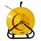 Jameson 10-316-300 Little Buddy Electrical Fish Tape Duct Rodder with 300 Feet of Fiberglass 3/16-inch Rod