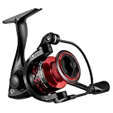 Piscifun Flame Spinning Reels Light Weight Ultra Smooth Powerful Spinning Fishing Reels Red 2000 Series