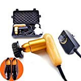 75W High Power Adjustable Speed Electric Shoe Polisher Machine with 3 Soft Moving Heads for Cleaning and Polishing,Automatic Shoe Shine Machine Kit