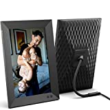 Nixplay 10.1 inch Smart Digital Photo Frame with WiFi (W10F) - Black - Share Photos and Videos Instantly via Email or App