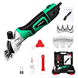 Anbull 550W Electric Sheep Shears Professional 6-Speed Clippers for Farm Livestock, Goats, Alpaca, Lamas, Horse, Cattle, Large Dog
