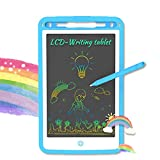 LCD Writing Tablet, 10 Inch Drawing Tablet Kids Magic Doodle Board, Colorful Toddler Drawing Board Electronic Drawing Pads, Educational and Learning Toy for 3-8 Years Old Boy and Girls