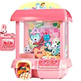 GMAXT Claw Machine,C1 Claw Toy,2.4G Remote Control Automatic or Manual Dual Mode Mini Claw Machine, Intelligent System with Music and Lighting, Children The Best Gift