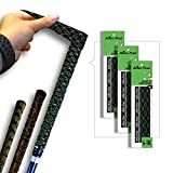 ALIEN PROS Golf Grip Wrapping Tapes (3-Pack) - Innovative Golf Club Grip Solution - Enjoy a Fresh New Grip Feel in Less Than 1 Minute (3-Pack, Black Cubic)