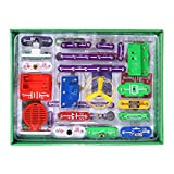 ELSKY Circuits for Kids 335 Electronics Discovery Kit, Circuits Experiments Kit, Smart Electronics Block Kit,Educational Science Kits Toy,Great DIY Building Blocks Electric Circuits Kits for Child