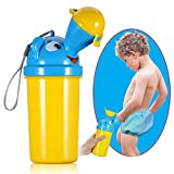 ONEDONE Portable Baby Child Potty Urinal Emergency Toilet for Camping Car Travel and Kid Potty Pee Training (boy) …