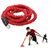 YNXing Dynamic Resistance Trainer Acceleration Speed Elastic Cord for Resistance Training to Improve Strength, Power, and Agility (9.8ft)