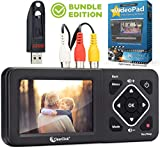 ClearClick Video to Digital Converter 2.0 (Second Generation) - Record Video from VCR's, VHS Tapes, AV, RCA, Hi8, Camcorder, DVD, Gaming Systems (Bundle Edition)