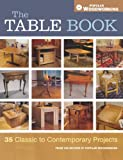 The Table Book: 35 Classic to Contemporary Projects (Popular Woodworking)