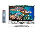 """RCA 15"""" Clearview HDTV   Transparent LED HD Television, High Resolution Wide Screen Monitor w/HDMI, VGA, RF Antenna Jack Inputs. Including Full Function Remote."""