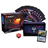 Magic: The Gathering Adventures in The Forgotten Realms Bundle | 10 Draft Boosters (150 Magic Cards) + Accessories