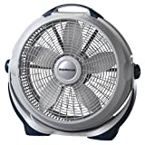 Lasko 3300 Wind Machine Air Circulator Portable High Velocity Floor Fans, for Indoor Home Cooling Breezes and, White Noise in Bedroom