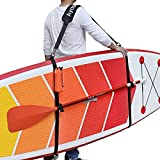 Ayaport SUP Paddle Board StrapsSurfboard CarrierStrapsHeavy Duty Carrying Shoulder Padded Straps for Paddleboards, Surfboards, Longboards, Kayaks