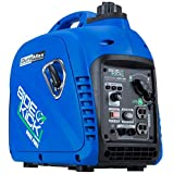 DuroMax XP2200EH Dual Fuel Portable Inverter Generator-2200 Watt Gas or Propane Powered Tailgate, Camping & RV Ready, 50 State Approved, Blue