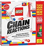 LEGO Chain Reactions (Klutz Science/STEM Activity Kit), 9' Length x 1.06' Width x 10' Height