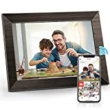 Frameo 10.1 inch WiFi MARVUE Digital Picture Frame Touch Screen Digital Photo Frame HD 1080P with 16 GB Memory, Automatic Rotation, Adjustable Brightness, iOS and Android app
