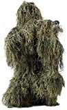HaoFst Medium-Large Adults Size Ghillie Suit Camo Woodland Camouflage Forest Hunting 4-Piece + Bag Adult M-L
