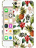 Bolster - iPod Touch 7th, 6th & 5th Generation Hardshell Case - Vintage-Tropical-Flowers Printed Designer Hard Plastic Back Case / Cover for iPod Touch 7th / 6th / 5th Gen.