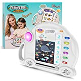 Preschool Electronic Learning Education Toys - Kids Thinking Pad with 6 Big Theme Q&A Family Interactive Games,Best Gift Toys for 3-8 Year Old Boys Girls