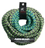 Airhead 2-Section Tow Rope | 1-4 Rider Rope for Towable Tubes, One Size (AHTR-42)