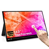 Portable Touch Monitor Travel Screen Second Touchscreen External Dual Full HD USB C Computer Gaming for Laptop 14.0 Inch 1920X1080 IPS Eye Care(Touch not for Mac OS/Surface Pro)