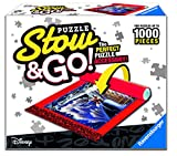 Ravensburger 17974 Disney Mickey Puzzle Stow & Go - Store and Transport Jigsaw Puzzles Up to 1000 Pieces