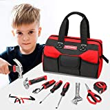 Craftsman 8-Piece Kids Junior Tool Set with Tool Bag, Real Tools & Accessories For Boys & Girls, Age 8+, CMXTYAG65549