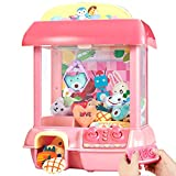 CISAY Claw Machine,C1 Claw Toy,2.4G Remote Control Automatic or Manual Dual Mode Mini Claw Machine, Intelligent System with Music and Lighting, Giving Children The Best Gift
