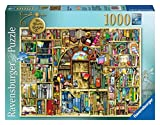 Ravensburger Bizarre Bookshop 2 1000 Piece Jigsaw Puzzle for Adults – Every Piece is Unique, Softclick Technology Means Pieces Fit Together Perfectly