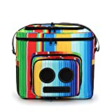 The #1 Cooler with Speakers & Subwoofer (Bluetooth, 20-Watt) for Parties/Festivals/Boat/Beach. Rechargeable Speaker Cooler, Works with iPhone & Android (Rainbow, 2020 Edition)