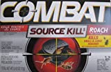 Combat Source Kill 5, Kills Small & Large Roaches at Their Source, Kills Roaches for 3 Months, 12 Bait Stations