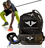 Vikingstrength - 360° Resistance Running Training Bungee Band (Waist) for Speed, Fitness Agility, Speed Strength – Gym Equipment for Football, Basketball, Crossfit, Solo or Partner